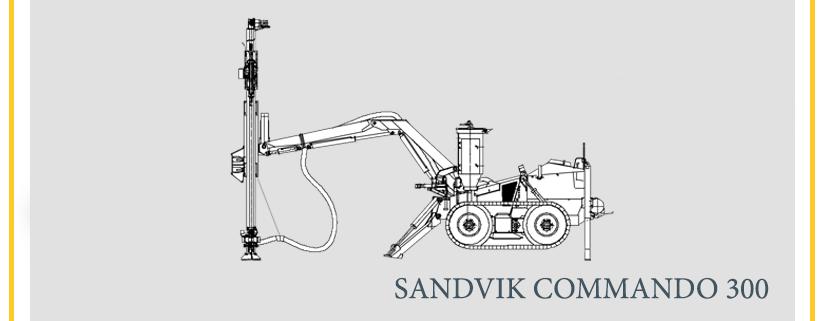 SANDVIK COMMANDO 300
