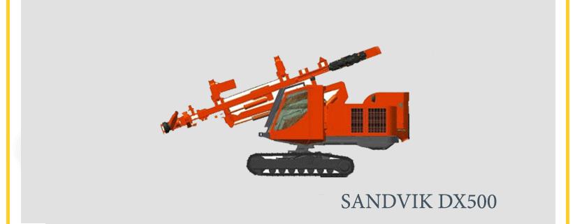 Sandvik-DX500